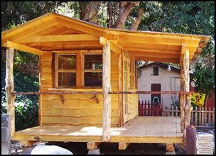 The Hobbit House Cabin is the newest addition at Camp Williams in Azusa, CA.