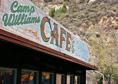 Our Cafe is ready to serve you at Camp Williams .
