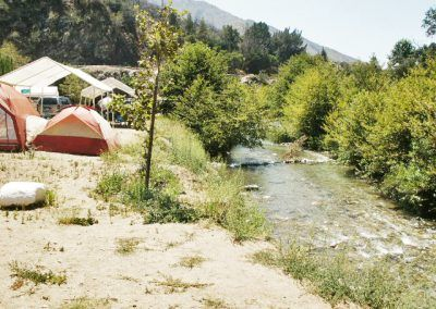 Tenting in Angeles National Forest