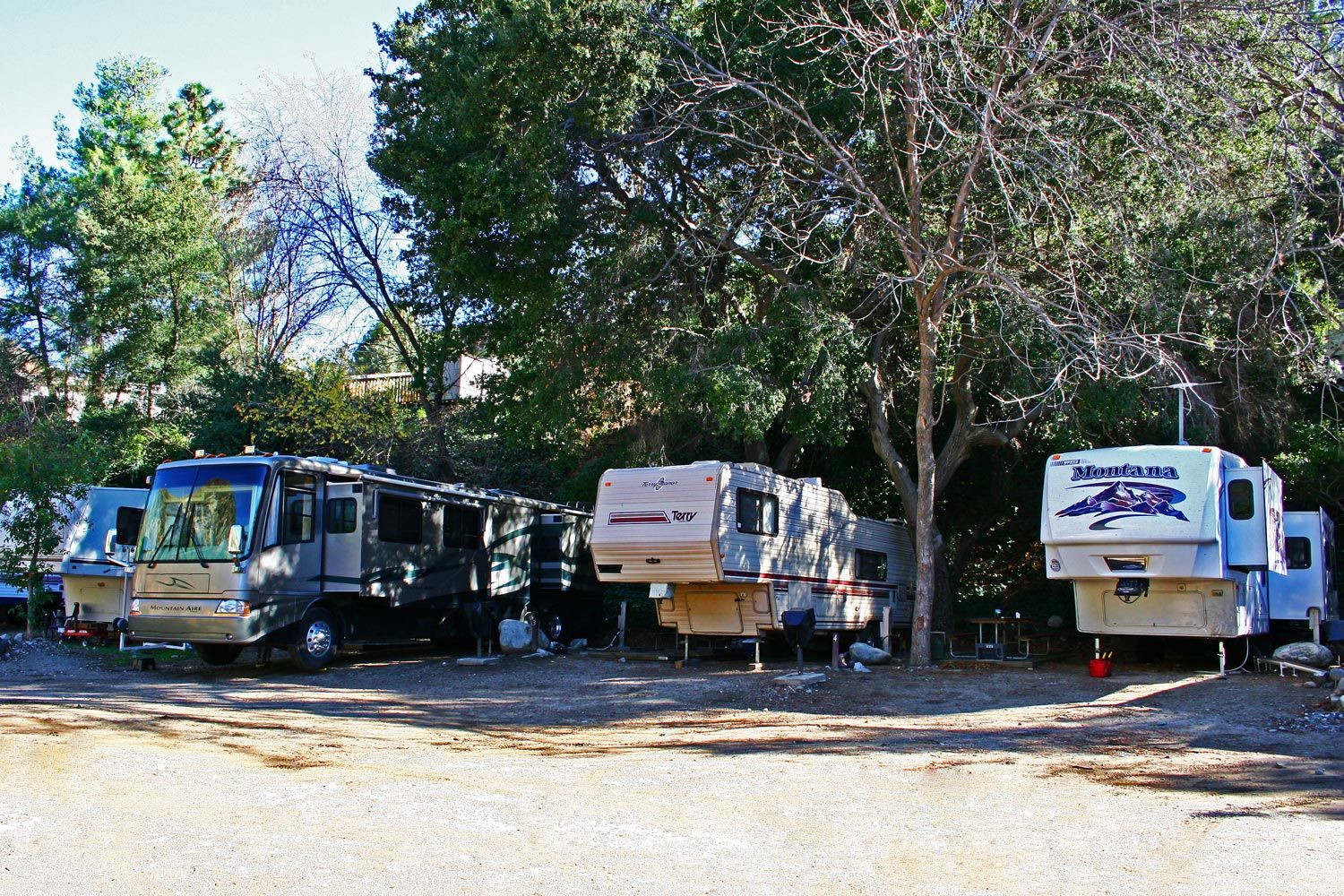 We have a spot for your RV at Camp Williams RV Resort.