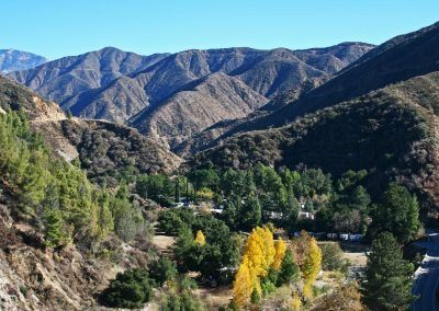 San Gabriel Mountains make the perfect backdrop for Camp Williams RV Resort.